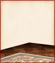 ロココな絨毯