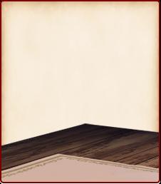 備え付け絨毯の床