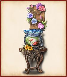 夏の金魚鉢